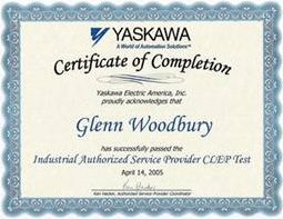 Yaskawa Authorized Service Provider